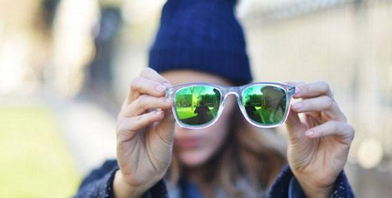 gafas espejo