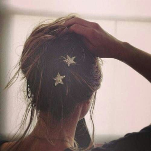 lavidacollage inspiration star hair