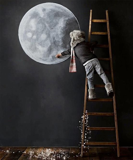 lavidacollage intenta coger la luna no te rindas