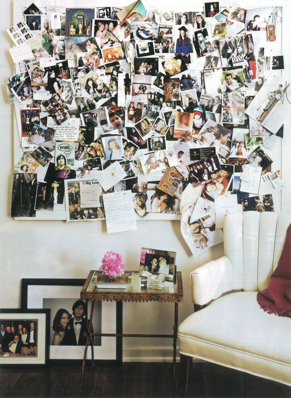 lavidacollage inspiration decoration wall photo
