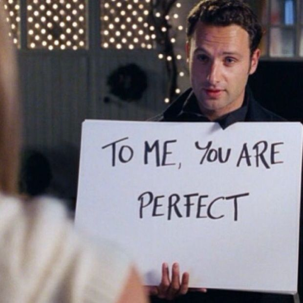 to me you are perfect love actually lavidacollage