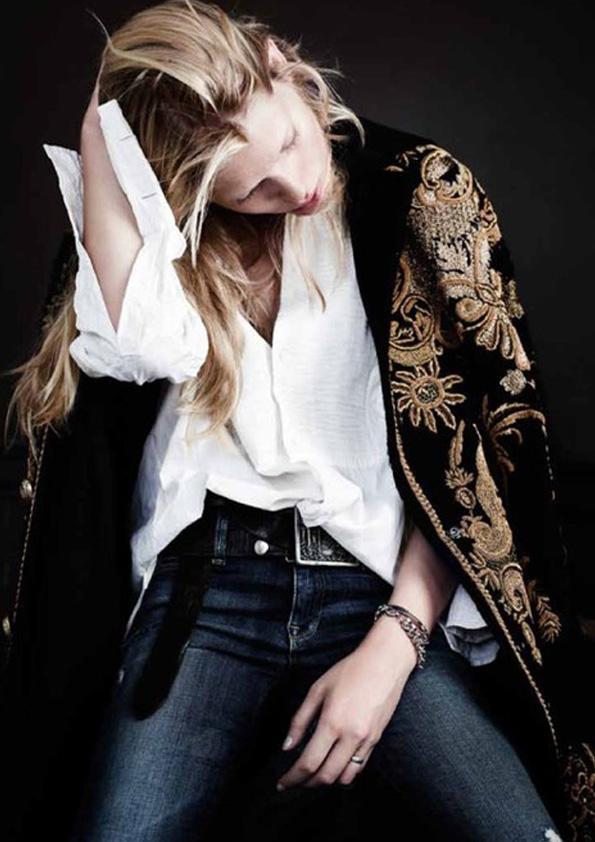 lavidacollage inspired rockromantic girl